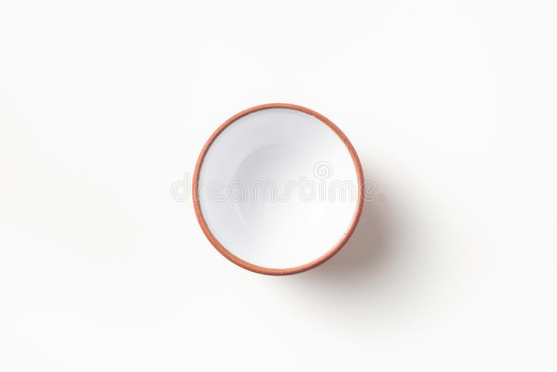 Tazza da the cinese vuoto della porcellana fotografia stock libera da diritti