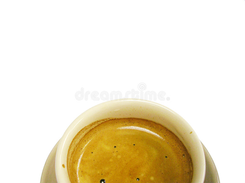 Tazza del caffè espresso fotografie stock libere da diritti