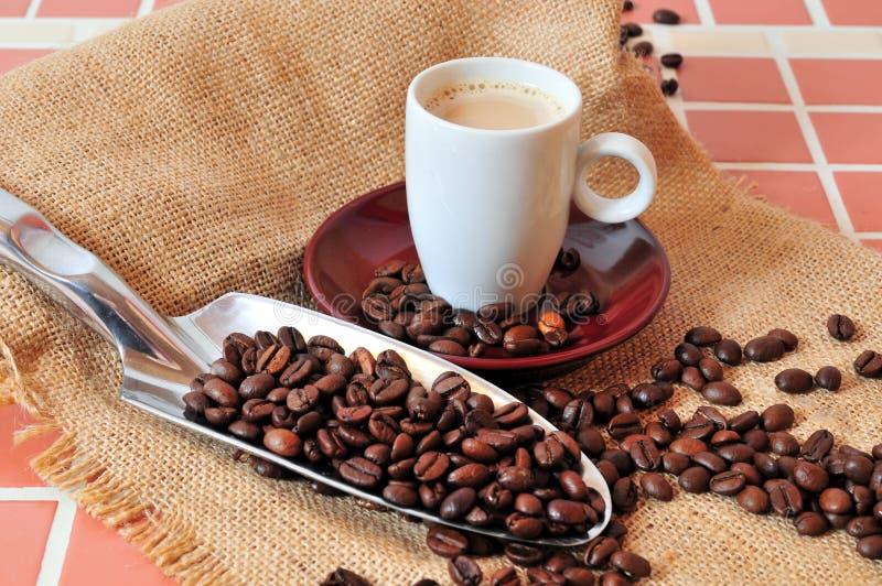 Tazza del caffè espresso di Kaffee immagini stock