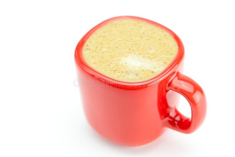 Tazza del Cappuccino fotografie stock