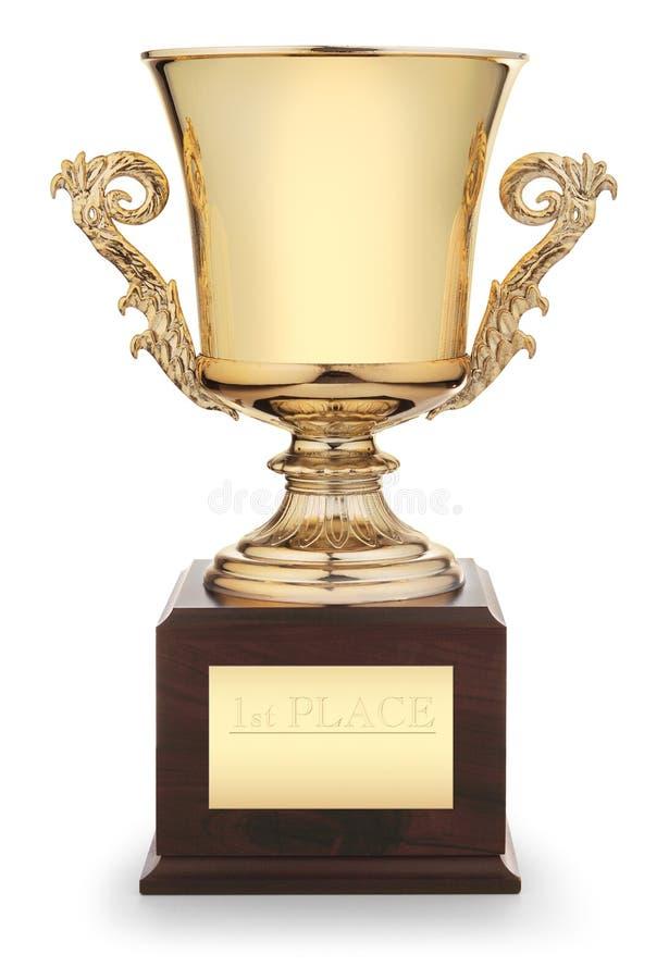 Tazza del trofeo immagine stock