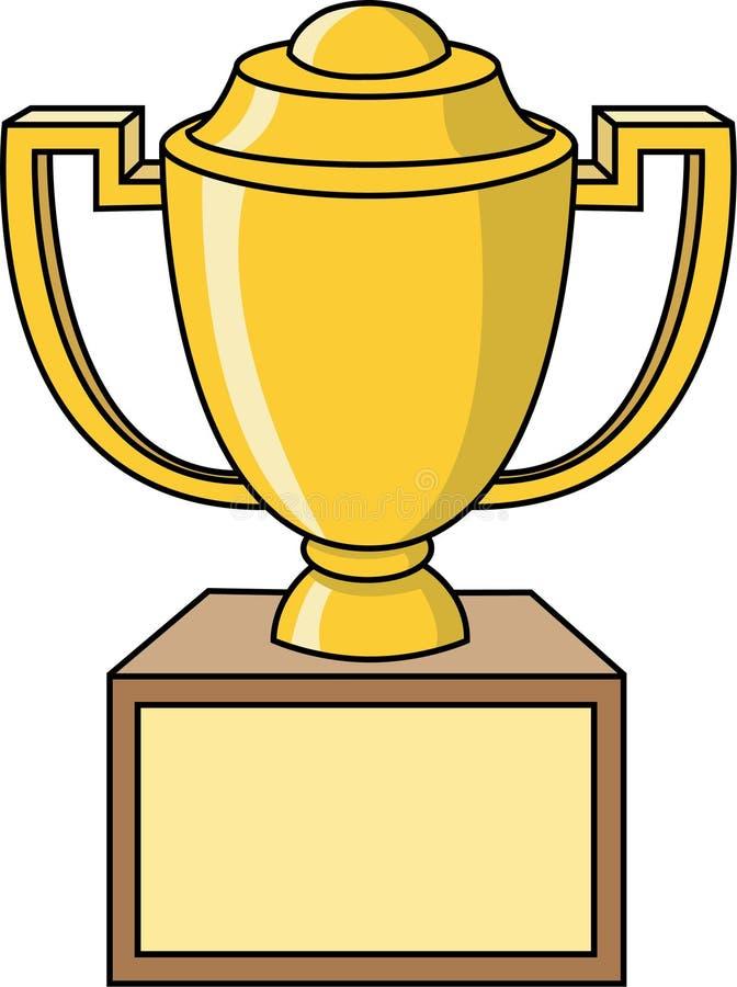 Tazza del trofeo illustrazione vettoriale