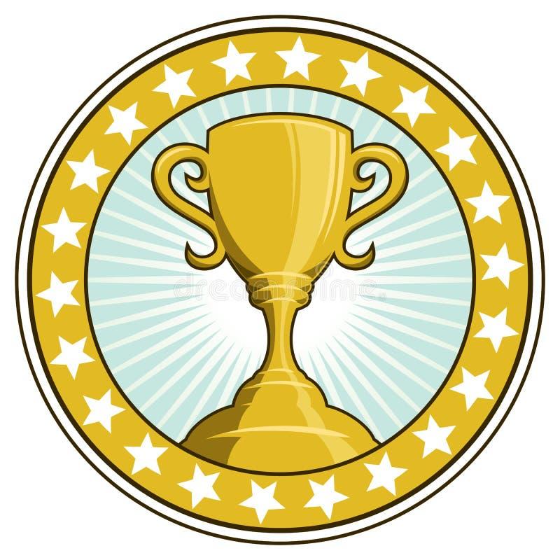 Tazza del trofeo del vincitore royalty illustrazione gratis