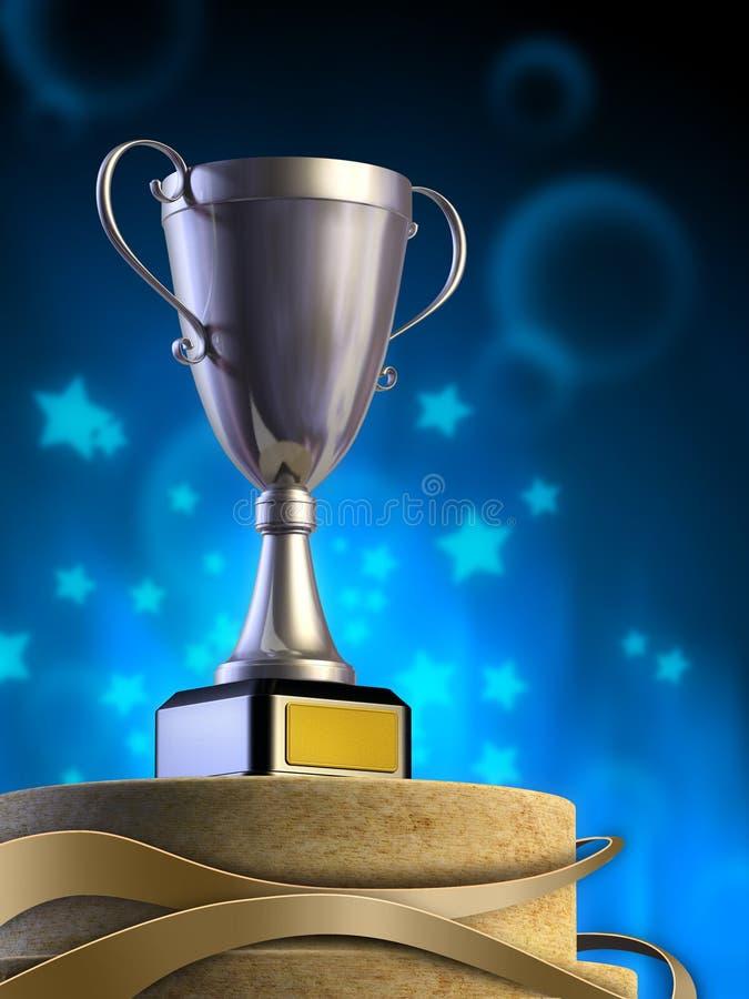 Tazza del vincitore royalty illustrazione gratis