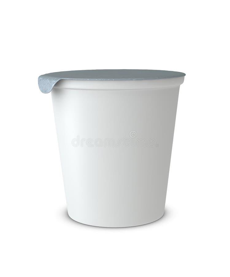 Tazza del yogurt royalty illustrazione gratis