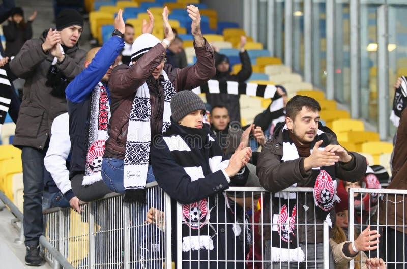 Tazza dell'Ucraina: FC Dynamo Kyiv v Zorya Luhansk a Kiev immagini stock