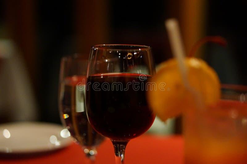 Tazza delle Maldive di vino immagini stock libere da diritti