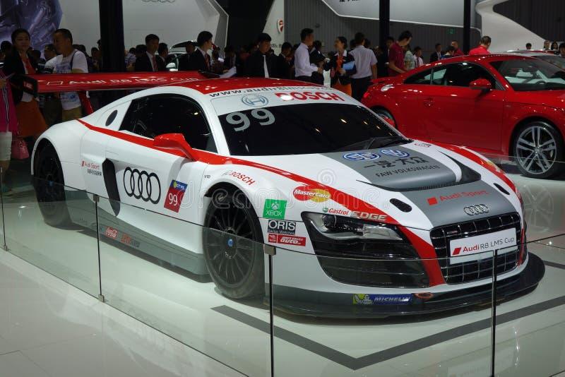Tazza di Audi R8 LMS fotografia stock
