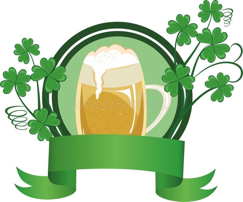 Tazza di birra illustrazione di stock