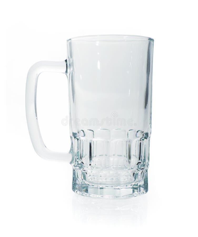 Tazza di birra vuota immagini stock libere da diritti