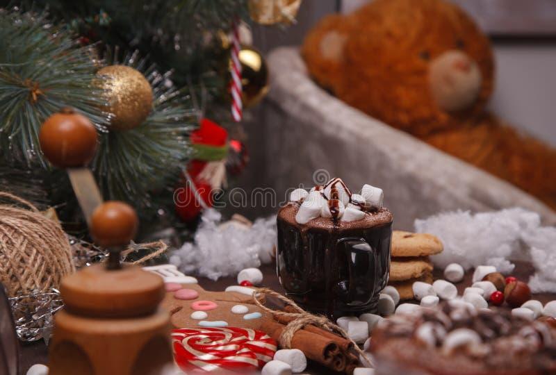 Tazza di cacao fotografie stock libere da diritti