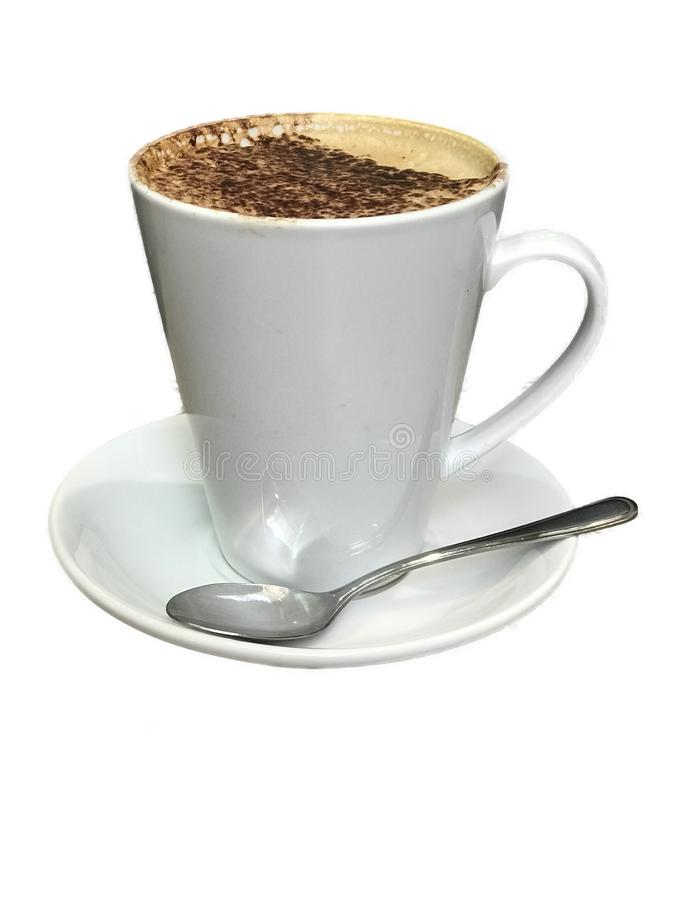 Tazza di caffè alta fotografia stock