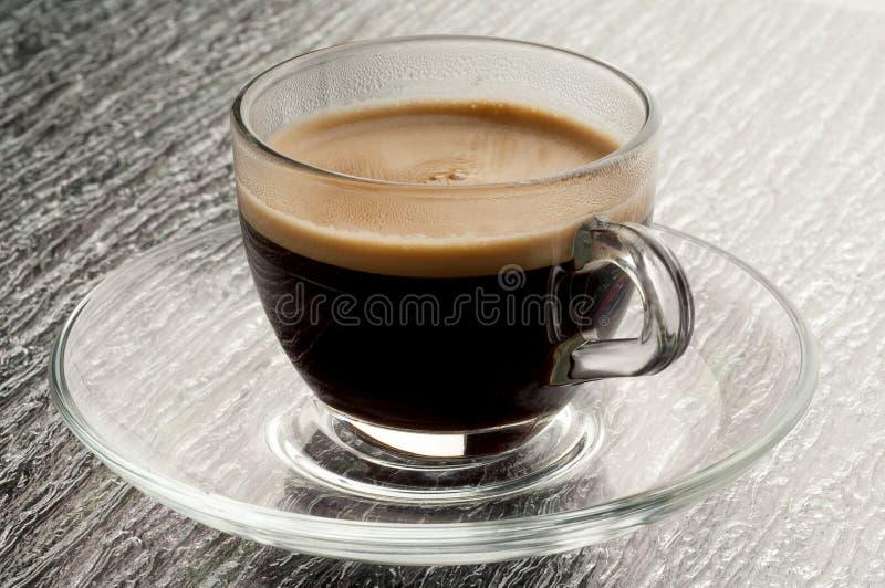 Tazza di caffè con coffe fotografie stock
