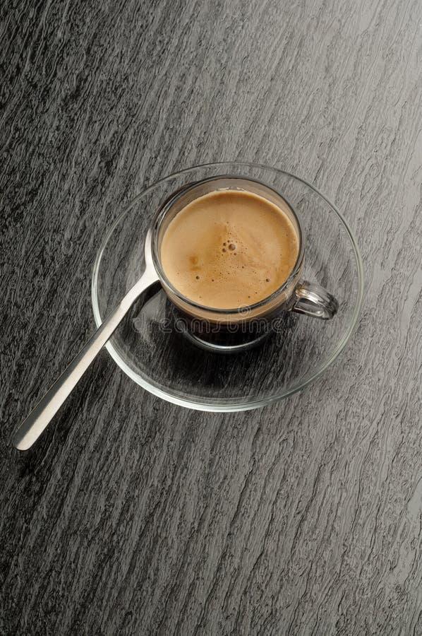 Tazza di caffè con coffe immagine stock