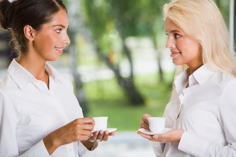 Tazza di caffè di mattina immagine stock