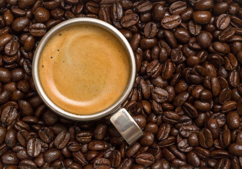 Tazza di caffè espresso immagini stock