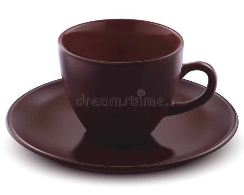 Tazza di caffè. Illustrazione di vettore illustrazione vettoriale