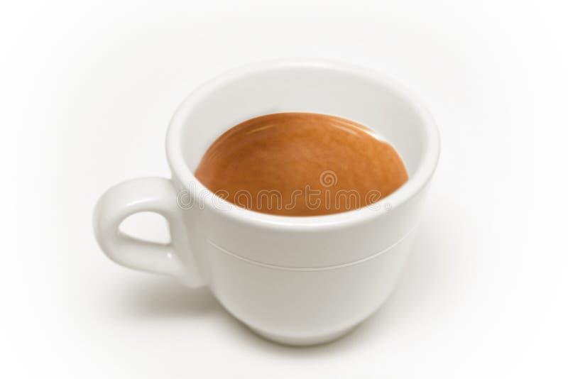 Tazza di caffè italiana fotografia stock libera da diritti