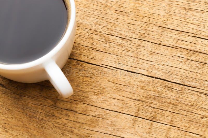 Tazza di caffè nero - colpo dello studio immagine stock