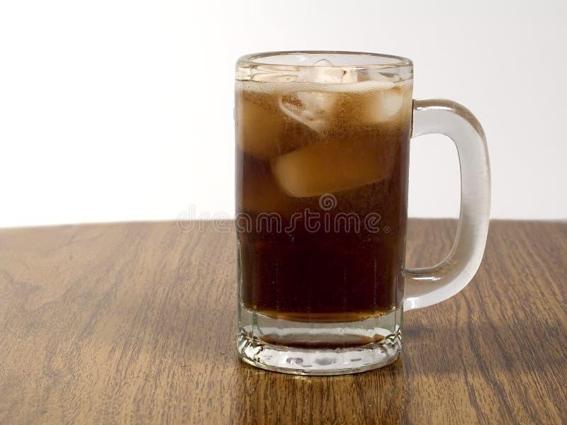 Tazza Di Cola Fotografia Stock
