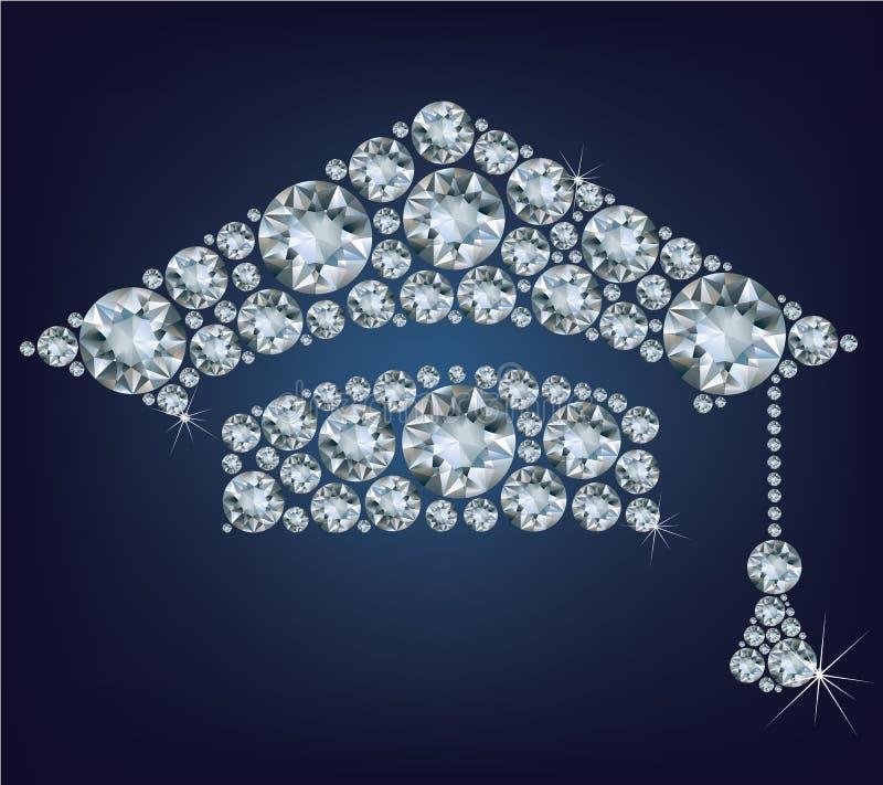 Download Tazza Di Istruzione Fatta Dai Diamanti Fotografia Stock - Immagine di istruisca, cappello: 30825140