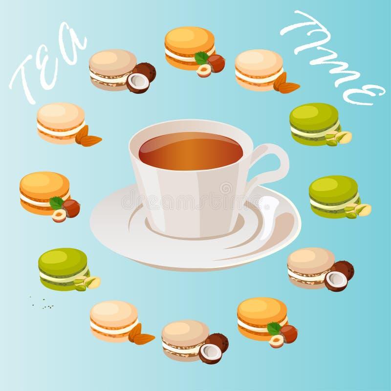 Tazza di tè illustrazione vettoriale