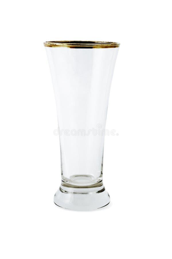 Tazza di vetro vuota fotografia stock libera da diritti