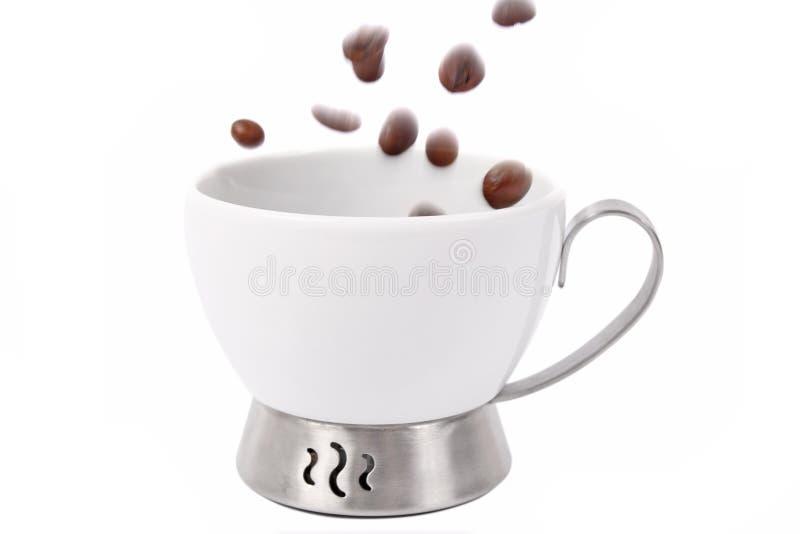 Tazza e caffè fotografie stock libere da diritti