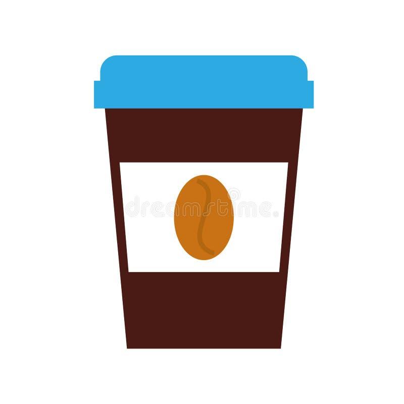 Tazza eliminabile del coffe royalty illustrazione gratis