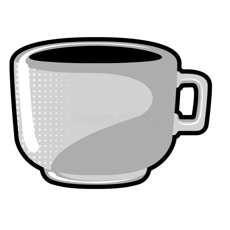 Tazza isolata del coffe royalty illustrazione gratis