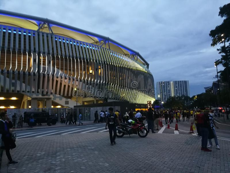 TAZZA Malesia di AFF SUZUKI contro la Tailandia immagine stock libera da diritti