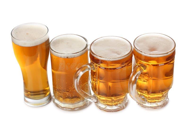 Tazze della birra fotografia stock