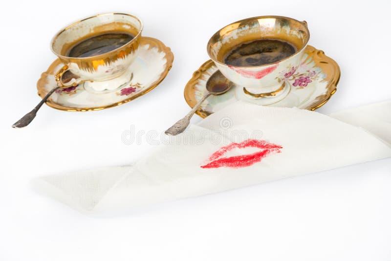 Tazze di caffè immagini stock