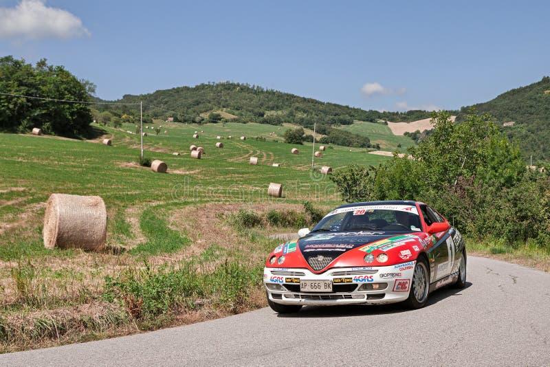 TB de Alfa Romeo GTV V6 do carro da reunião foto de stock royalty free