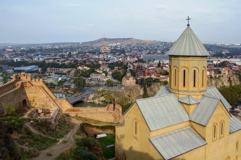 Tbilisi Église de Saint-Nicolas La république de Géorgie photos libres de droits