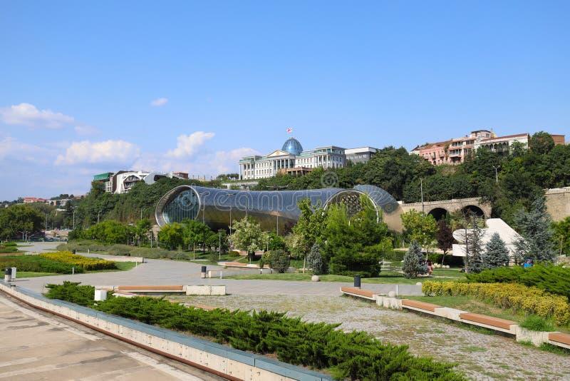 Άποψη του Tbilisi, Γεωργία στοκ εικόνες