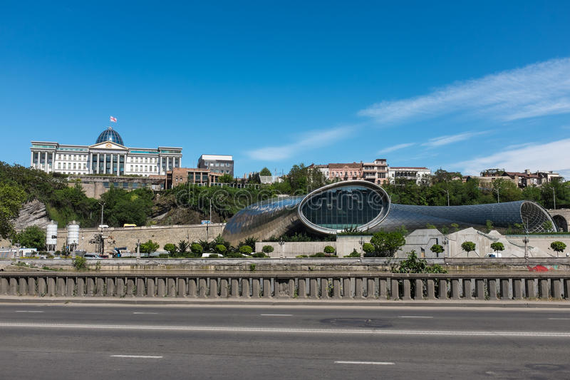 Tbilisi Γεωργία Ανατολική Ευρώπη στοκ φωτογραφίες