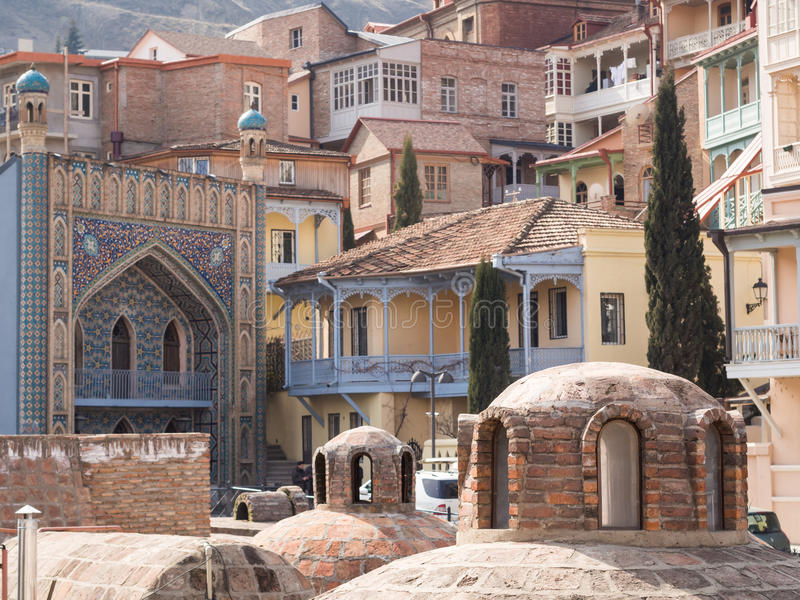 Tbilisi imagem de stock