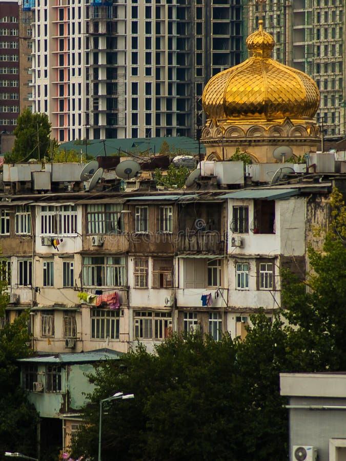 Tbilisi aleja obraz royalty free
