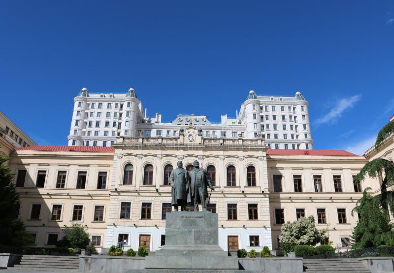 Tbilisi arkitektur royaltyfri bild