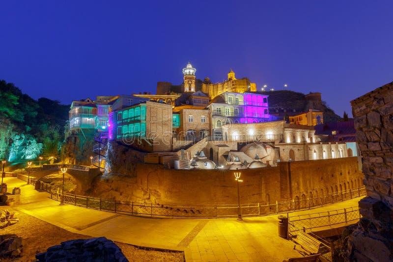 tbilisi Cidade velha foto de stock royalty free