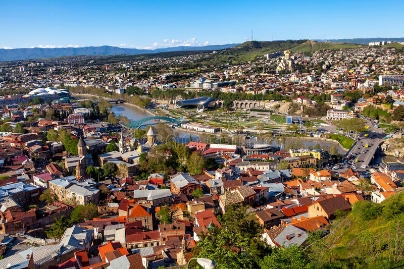Tbilisi, Geórgia fotografia de stock