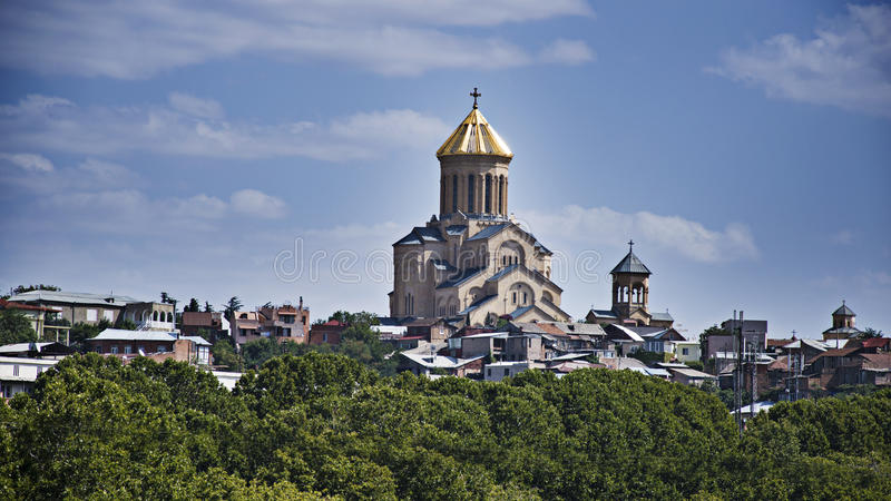 Tbilisi Georgië royalty-vrije stock foto