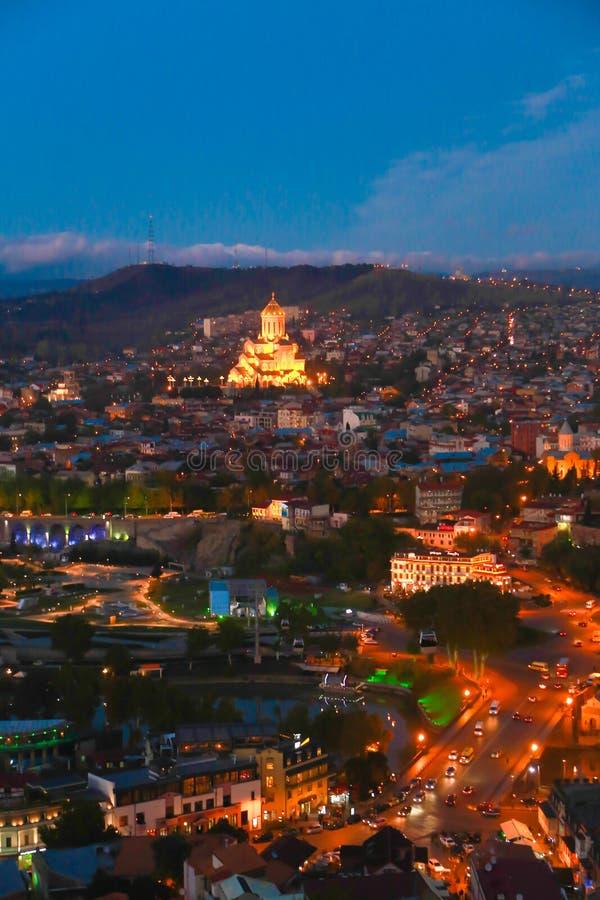 Tbilisi Georgië stock afbeeldingen