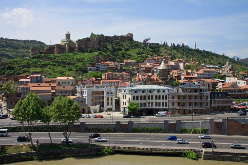 Tbilisi, la Géorgie image stock