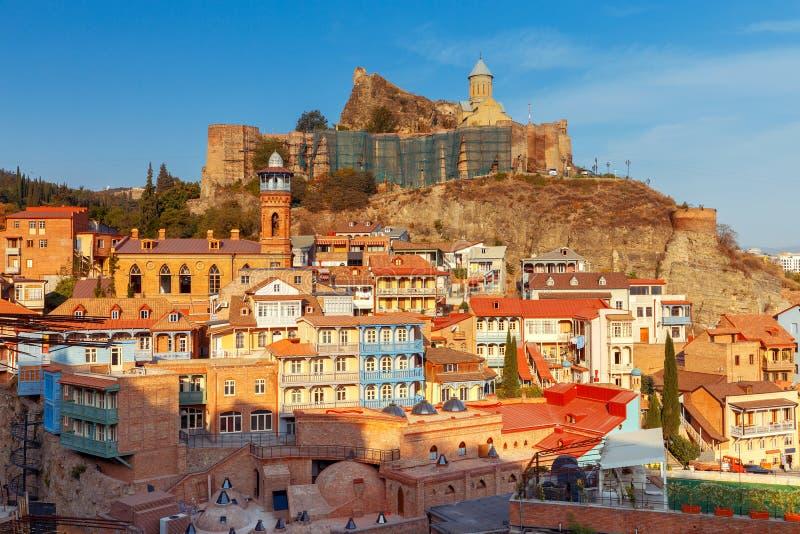 Tbilisi Oude Stad stock fotografie