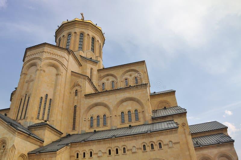 Download Tbilisi Sameba Cathedral stock photo. Image of sameba - 16415988