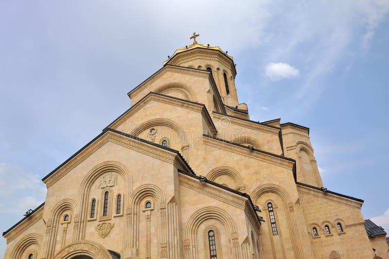 Download Tbilisi Sameba Cathedral stock photo. Image of grusia - 16416044