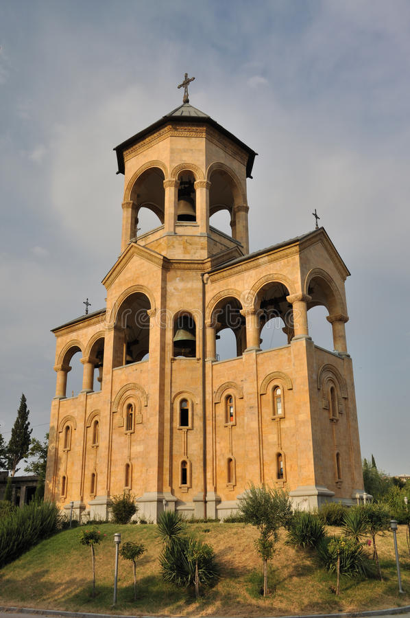 Free Tbilisi Sameba Freely-standing Bell-tower Stock Images - 16416114
