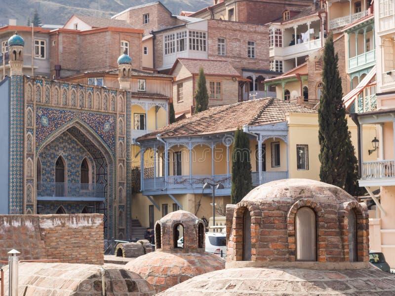 Tbilisi stock image